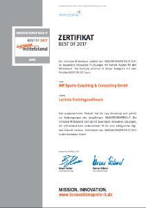 Zertifikat InitiativeMittelstand Lanista