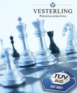 Die Vesterling Personalberatung ist erfolgreich für Ihr Qualitätsmanagement nach DIN ISO EN 9001:2008 zertifiziert worden. Nach Aussagen des Auditors hätte Vesterling einen Platz unter Deutschlands Kundenchampions verdient.