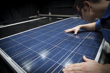 Sonnensimulator für Photovoltaik-Module