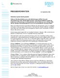 Pilkington Deutschland AG Pressemitteilung Nr. 43 23.09.2021
