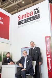 v.l.n.r Bastian Schneider, Dr. Matthias Nagel und Markus Nagel von n³