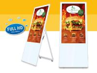 Bild LionDATA digitaler Kundenstopper DKS43