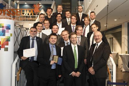 vorn links im Bild: Dr. Matthias Nagel (n³)