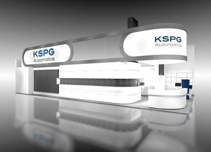 KSPG AG IAA Nutzfahrzeuge Stand Trade fair stand