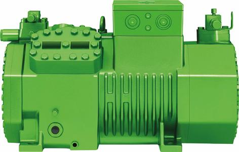 Inside the ECO-cute, the BITZER 4HTC reciprocating compressor for CO2 applications sets the pace. This four-cylinder unit was designed for trans-critical CO2 applications and for operation with a frequency inverter, enabling flexible capacity control for optimum system efficiency at all times.