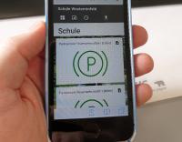 Daten können bequem per Smartphone o.ä. eingesehen werden