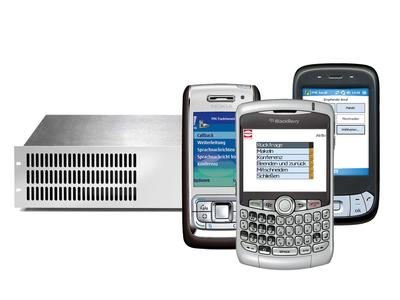 Teleserver Mobile Pro and Smartphones with FMC Mobility Client