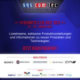 syscomtec LIVE CAST: leistungsstarke Produkte für die AV-Branche