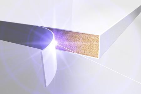 Nach dem Urteil der Obersten Richter in Karlsruhe bleibt REHAU unverändert der Kantenbandhersteller, der für laserfügbare Kantenbänder Rechtssicherheit gewähren kann / Copyright by REHAU