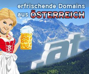 At-Domains gehören zu Österreich wie Dirndl, Almdudler und Alpen