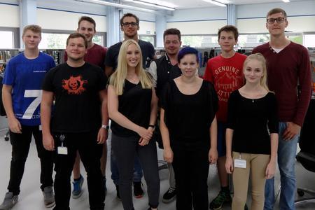 Zehn neue Auszubildende bei TQ-Systems Durach