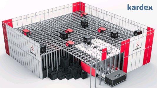 Kardex AutoStore Lagerlösung für Kleinteile