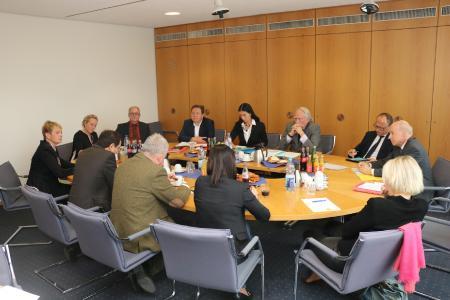 CDU-Landtagsabgeordnete der Region Heilbronn-Franken treffen IHK-Spitze; Bildquelle: IHK Heilbronn-Franken