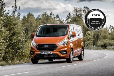 International Van of the Year 2020: Ford Hybrid vorn