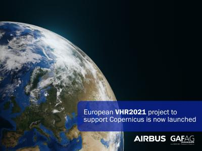 European VHR2021 project to support Copernicus is now launched
