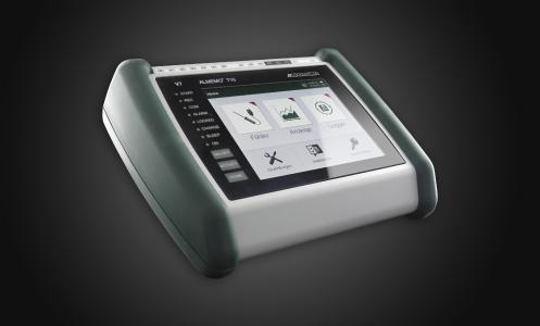 Touchscreen-Datenlogger für den Anschluss beliebiger Sensoren