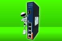 ORing IES-1041GPA: Industrial Gigabit Ethernet Switch - Von Glasfaser auf Kupfer