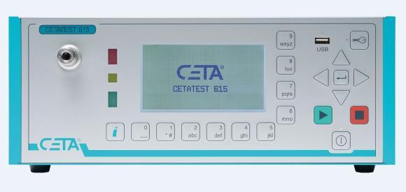 New Mass Flow Leak Tester CETATEST 615
