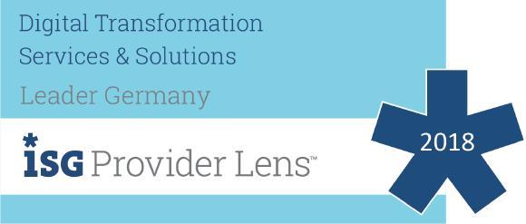 """Analystenhaus ISG bewertet Arvato Systems als """"Leader"""" (Copyright: ISG)"""