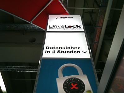Voller Erfolg: CenterTools DriveLock auf der it-sa 2011