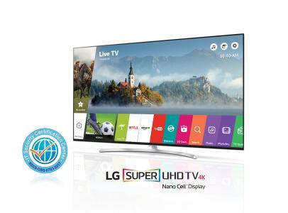 LG CC Zertifizierung mit SUPER UHD TV (SJ95)