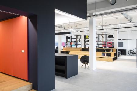 Büro München: Entwurf und Planung Modal M conceptsue (Bild: Christian Krinninger)