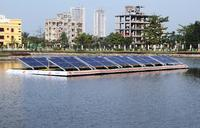 Vikram Solar successfully commissions India's first floating PV power plant