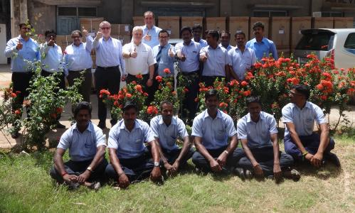 Schlemmer Josef Minster and Employees Schlemmer India