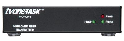 New 1T-CT-670 HDMI Over Fiber System from TV One