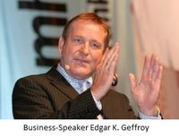 CeBIT 2012: Zum Start der MAGIX Videocloud Sales-Talk mit Business-Speaker Edgar K. Geffroy