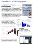 TurboCAD Schulungsprogramm Prospekt