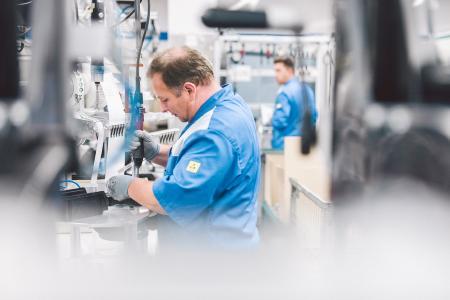 ebm-papst wurde erneut als einer der besten Arbeitgeber Deutschlands ausgezeichnet. (Foto: Philipp Reinhard für ebm-papst)