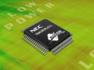 Gleichmann Electronics presents 22 new low power 16-bit MCUs from NEC Electronics