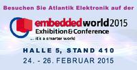 Atlantik Elektronik @ embedded world 2015 in Nürnberg