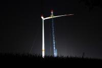 Bau Windpark Wennerstorf