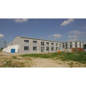 construction site of the new BMW Motorrad Motorsport Headquarter, Stephanskirchen, Germany