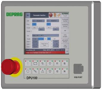 Control unit DPU 100  (Photo: DEPRAG SCHULZ GMBH u. CO.)