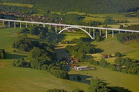 Grümpentalbrücke (c) Nürnberg Luftbild, Hajo Dietz