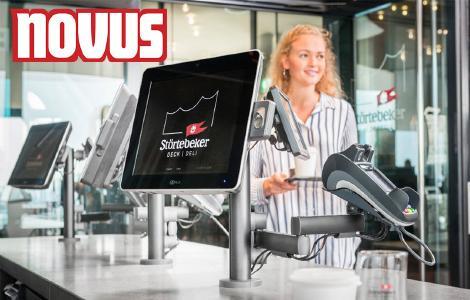 Novus Retail System Anwendungsbeispiel Deck & Deli