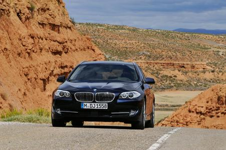The new BMW 5 Series Touring 02