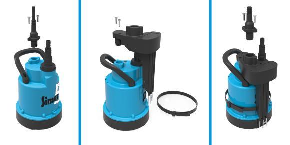 Plug & Play. Einfach nachzurüsten das neue SIMER LEVEL CONTROL für den Automatik-Betrieb der Pumpe / Bild: Jung Pumpen GmbH, Steinhagen