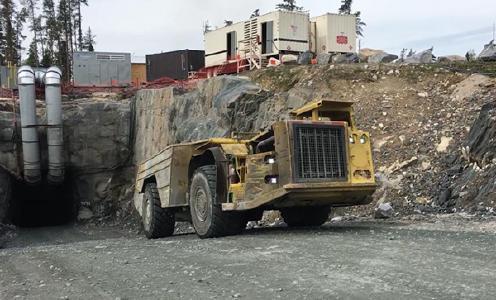 29 Tonner auf der Sugar_Zone Mine; Foto: Harte Gold