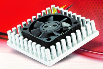 "New super flat chip cooler: a smart combination of ""Kühligel""® and micro fan"