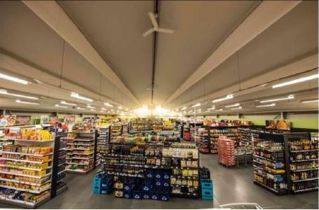 Die Einrichtungspläne sind darauf abgestimmt, dass die einkaufende Kundschaft von Feneberg keine Veränderungen im Aufbau und in der Sortiment-Sortierung hinnehmen muss