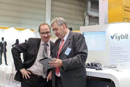 Sybit Key Account Armin Kehl und Sales Director Thomas Kolb (vlnr)