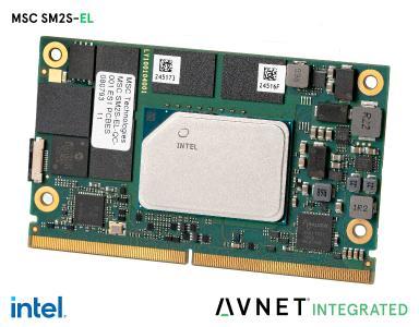 Avnet Integrated präsentiert SMARC 2.1™ Module mit Intel Atom® x6000E Serie für deutlich mehr Performance bei Edge Computing