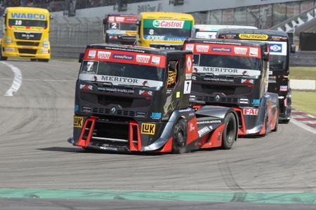 Wieder lieferten sich Markus Oestreich, Markus Bösiger und Adam Lacko spannende Kämpfe um Punkte und Platzierungen