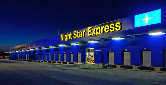 Night Star Express-Hauptumschlagbetrieb in Hünfeld