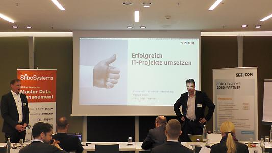 Master Data Management Fachkonferenz - SDZeCOM mit Stibo Systems