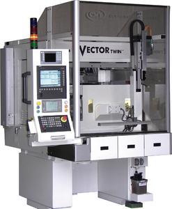 Mit der neuen Doppelspindel-Rundschleifmaschine Vector Twin Mark IV des englischen Herstellers Curtis Machine Tools Ltd (CMT) präsentiert die TECNO.team GmbH bewährte Technologie mit 40 % größerem Verfahrweg